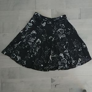 New York & Co. Black Skirt with Silvery Accents